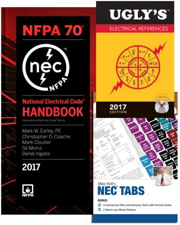2017 NEC Handbook, Tabs, and Ugly's Combo